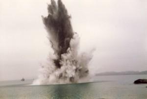 Minesprengning Brimse 1988