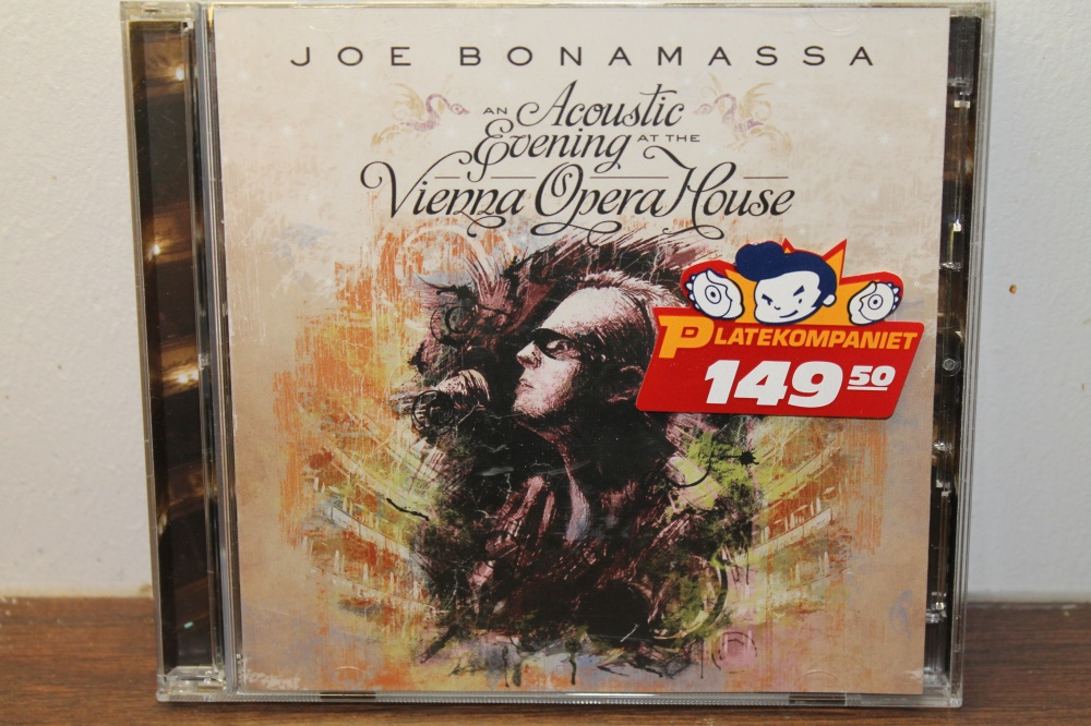 JOE BONAMASSA. An accoustic evening at the Vienna Opera House