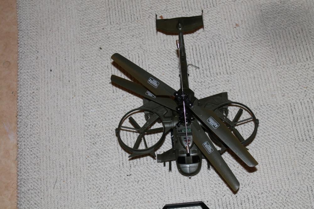 Mitt fjernstyrte helikopter
