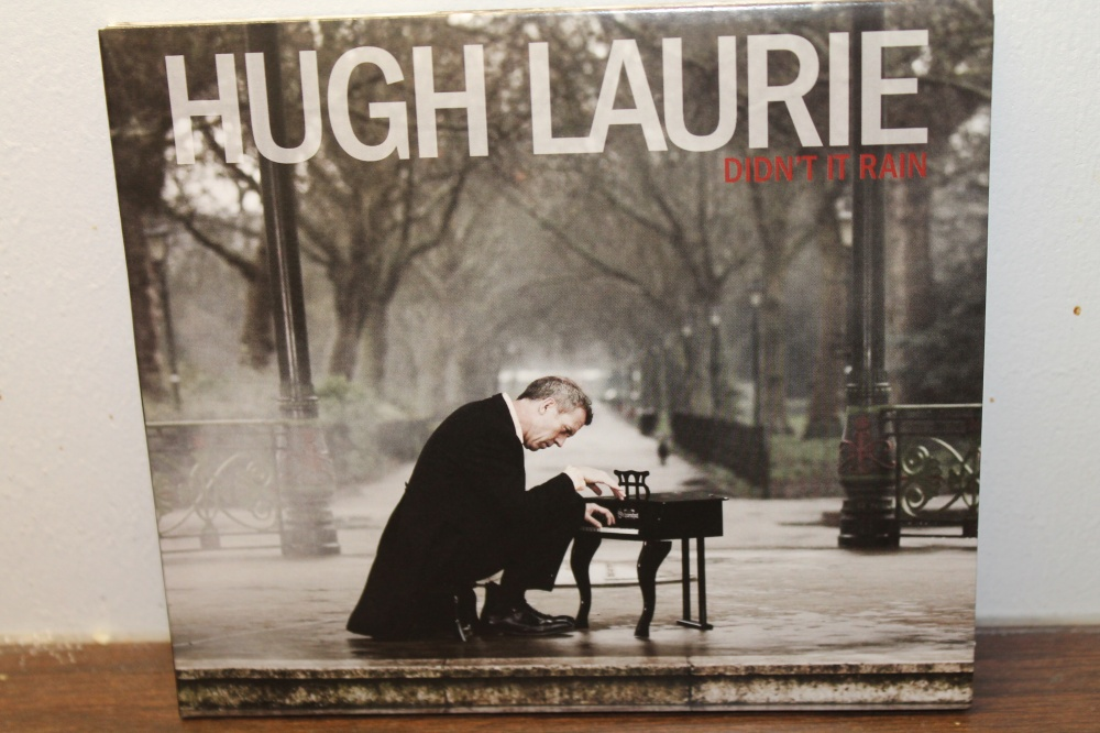 HUGH LAURIE: DIDN'T RAIN