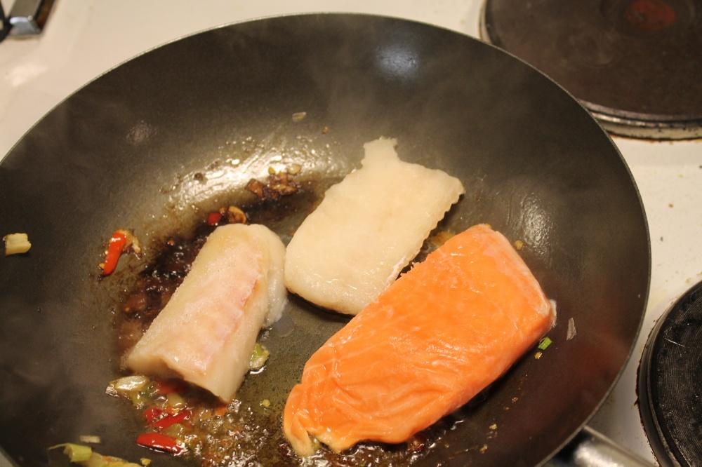 Steke fisk