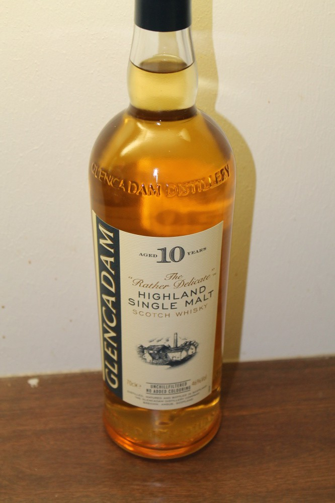 GLENCADAM Highland Single Malt 10 år