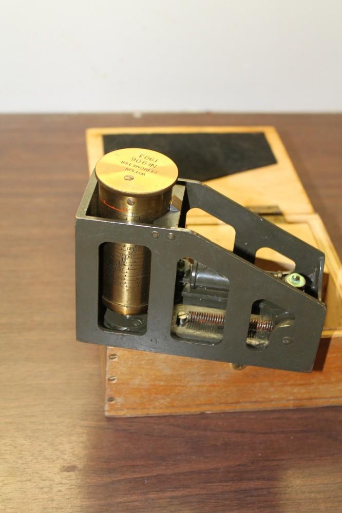 Engelsk rettekvadrant produsert i 1903