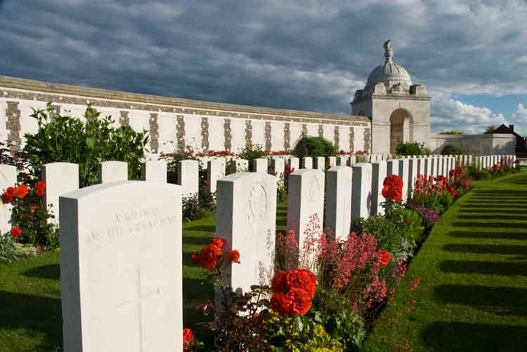Et annet synlig resultat av Første Verdenskrig
