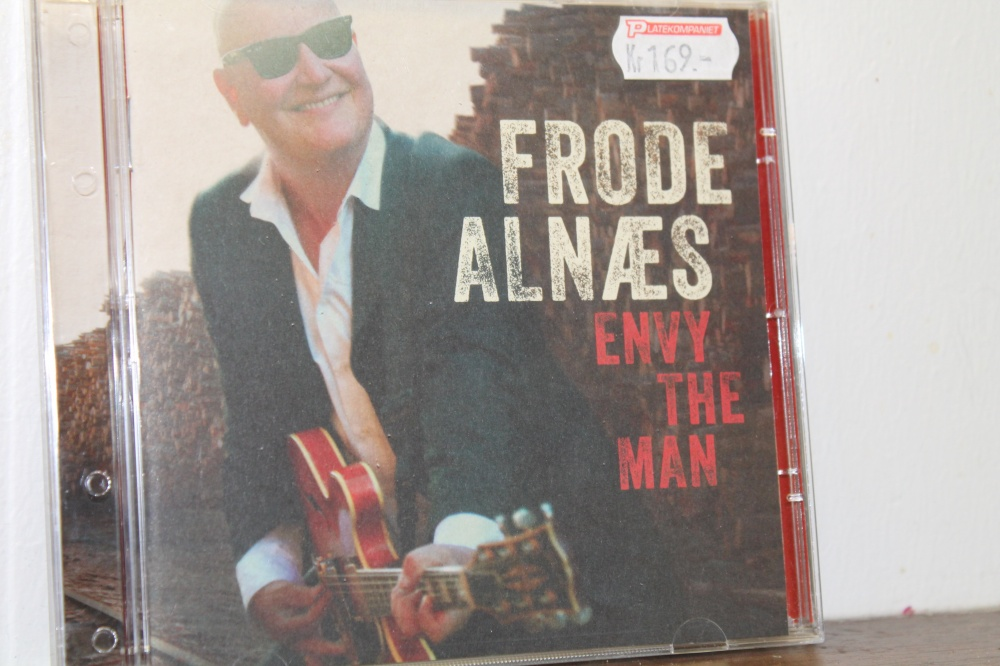 FRODE ALNÆS : ENVY  THE MAN