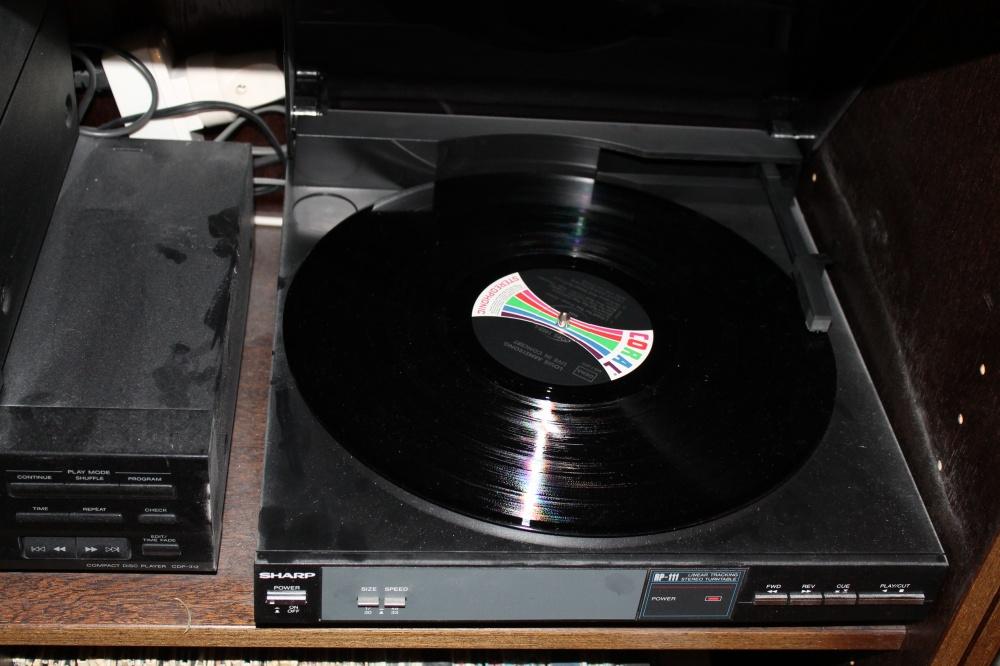 Avspiller vinylplater