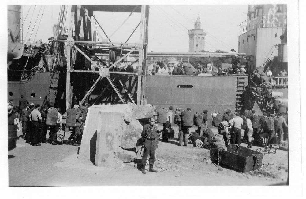 Hjemsending av tyske soldater sommeren 1945