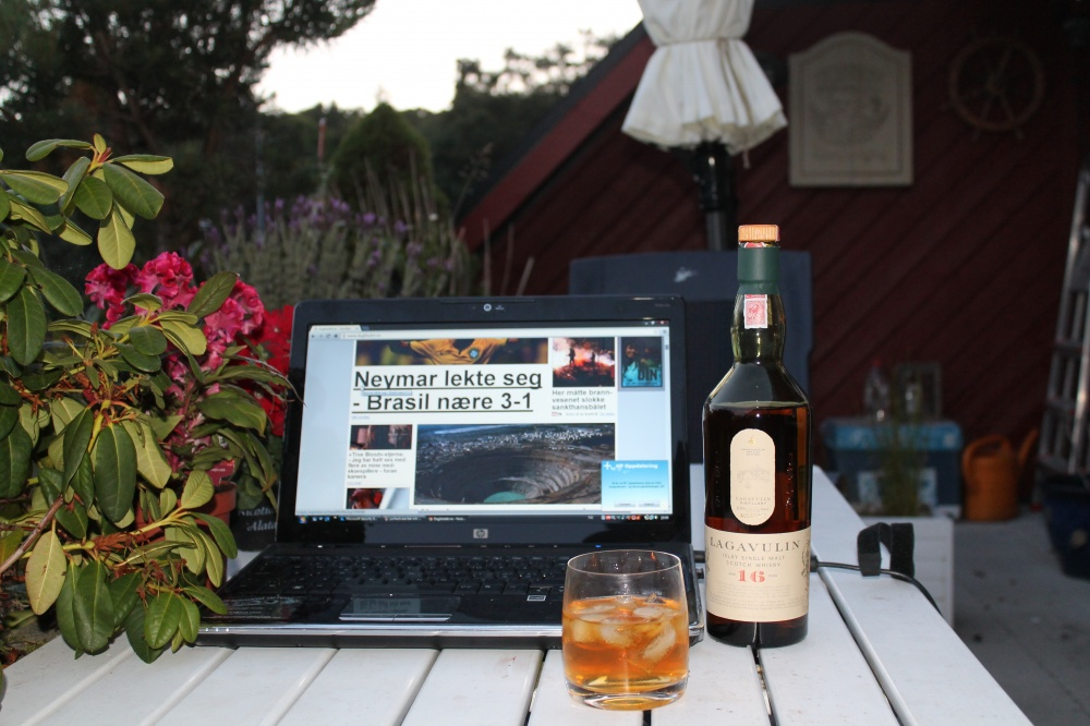 Maltwhisky stimulerer kreativiteten