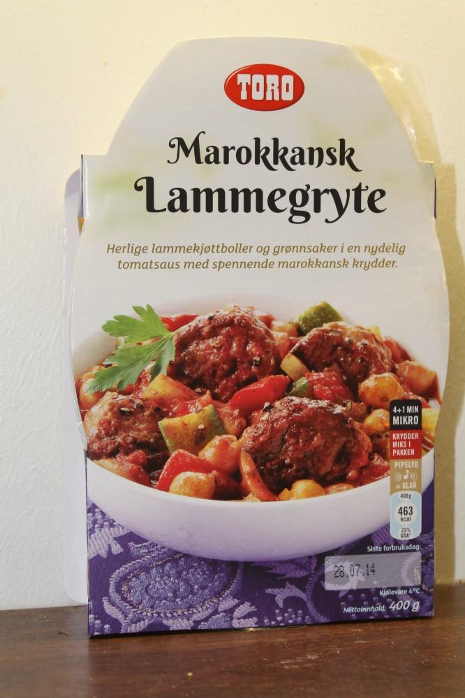 MARROKKANSK LAMMEGRYTE