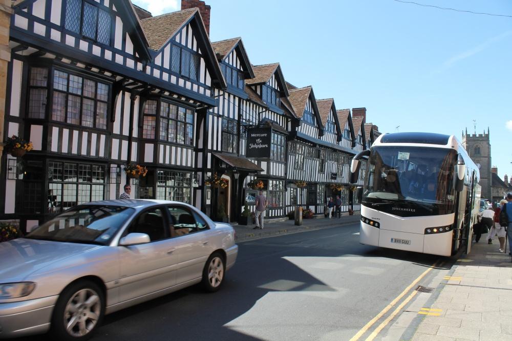 Vårt hotel i Stratford