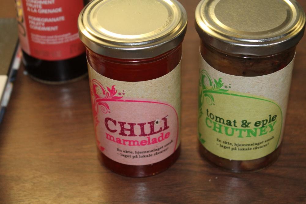 Tomat&Eple Chutney,Chili Marmeade