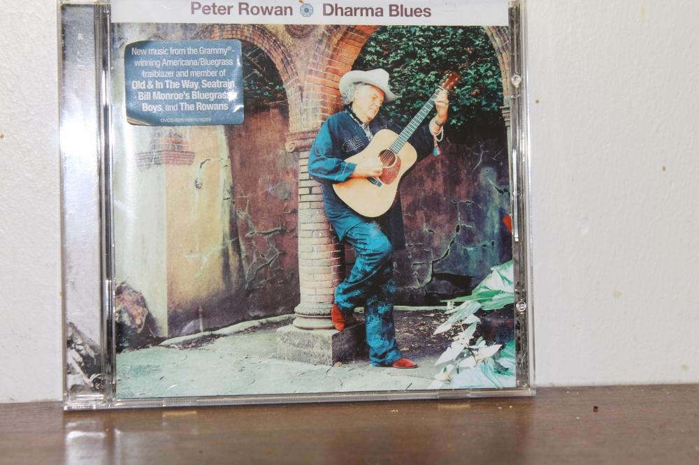 """Peter Rowan : """"DharmaBlues"""""""