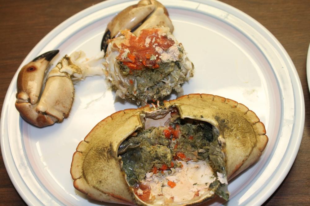Åpnet krabbe