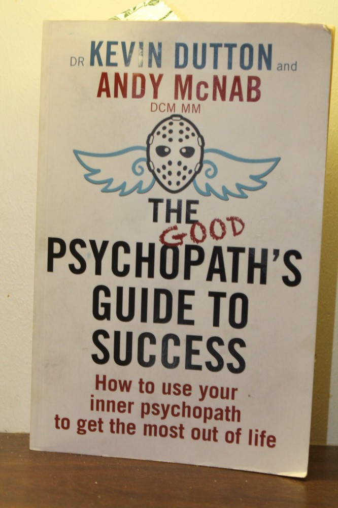 THE PSYCHOPATHS GUIDE TO SUCCESS
