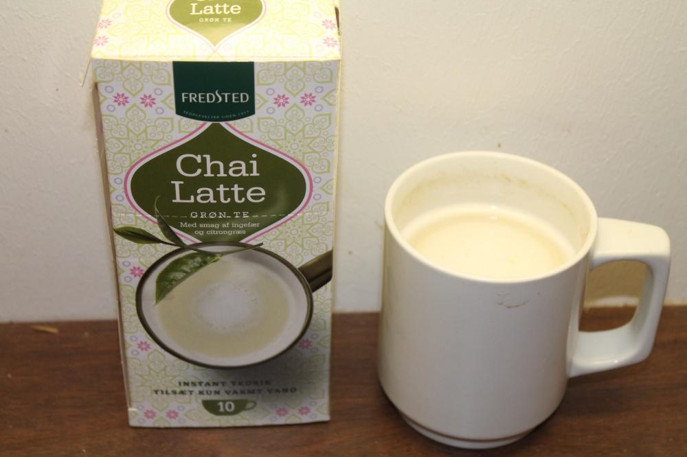 Chai Latte Grønn te med smak av  ingefær og sitrongress