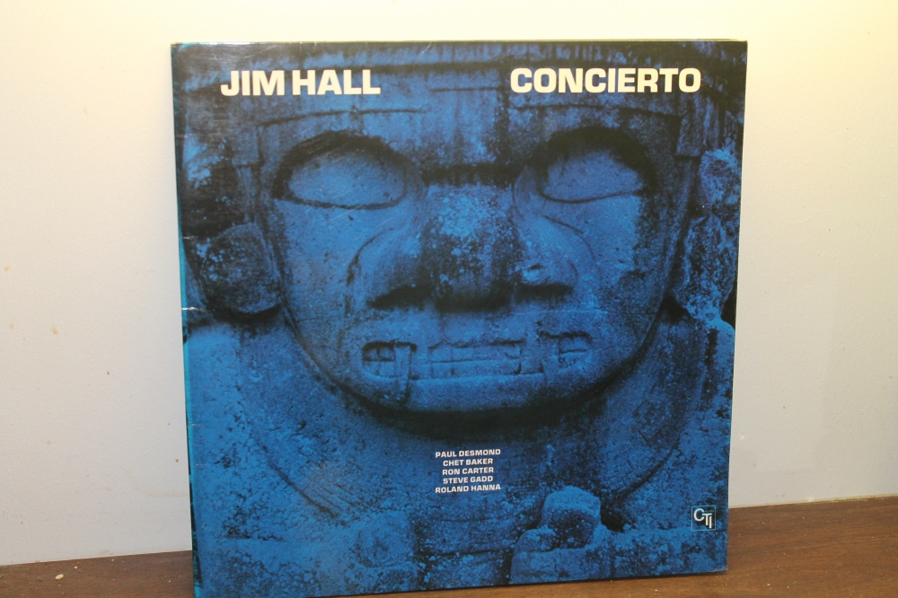 VINYLPLATE MED JIM HALL