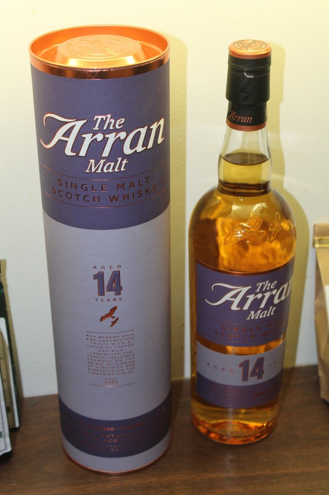 THE ARRAN MALT   14 YEARS