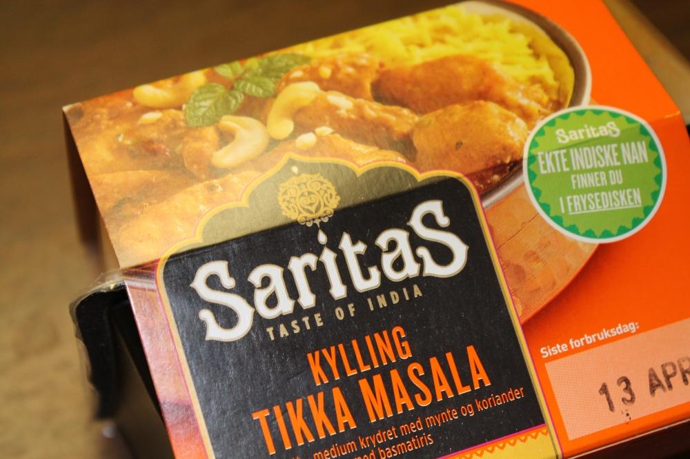 Saritas : KYLLING TIKKA MASALA