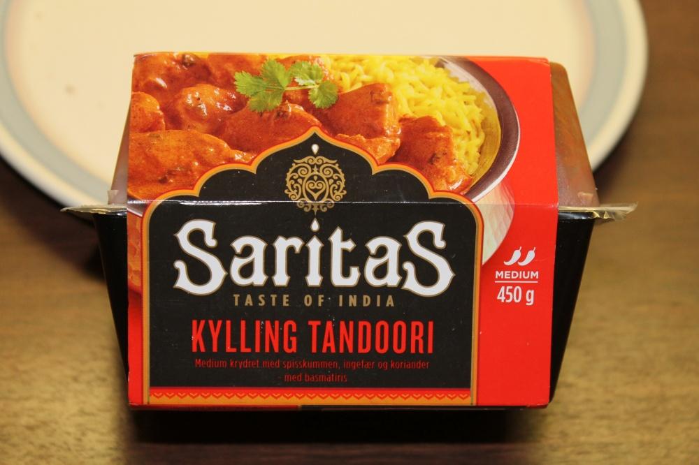 Saritas: KYLLING TANDORI