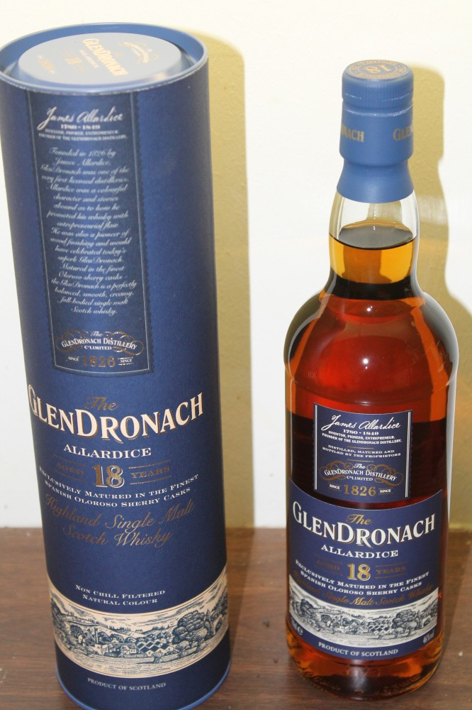 The Glendronach Allardice  18 years