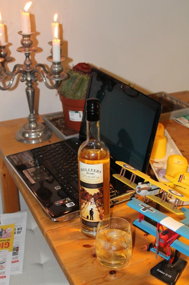 Skal en teste whisky bør det gjøres i fred og ro