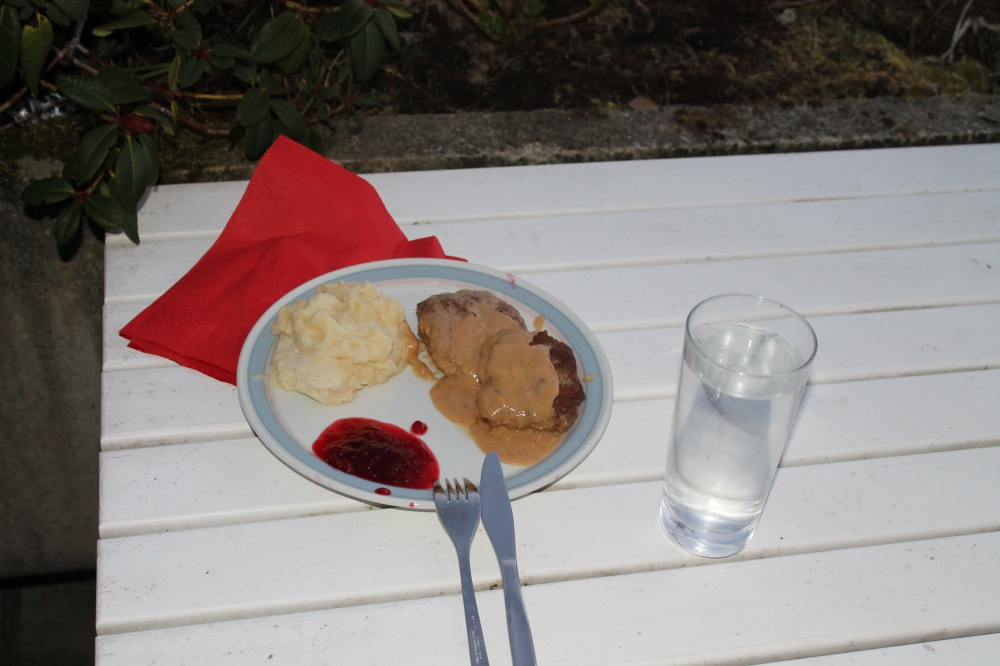 Middag på terassen