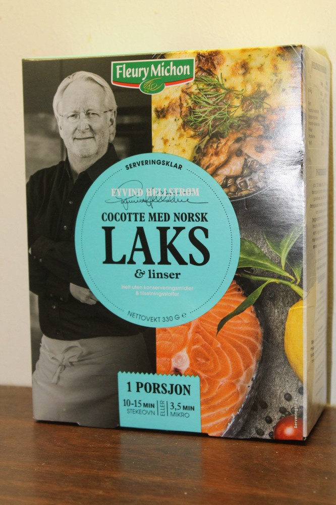 COCOTTE med norsk laks og liser