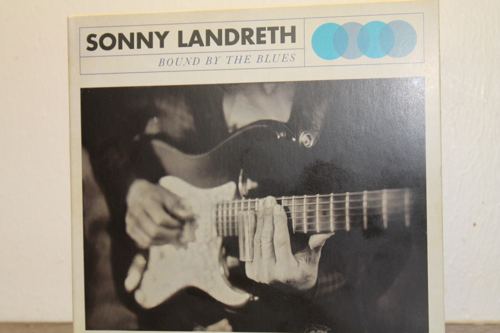 SONNY LANDRETH : BOUND BY THE BLUES