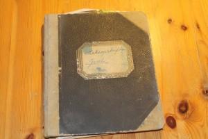 Min mors håndskrevne oppskriftbok