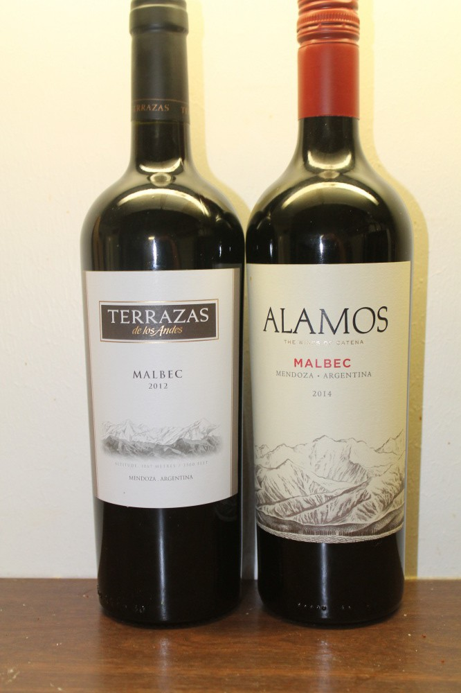 Argentinsk rødvin.