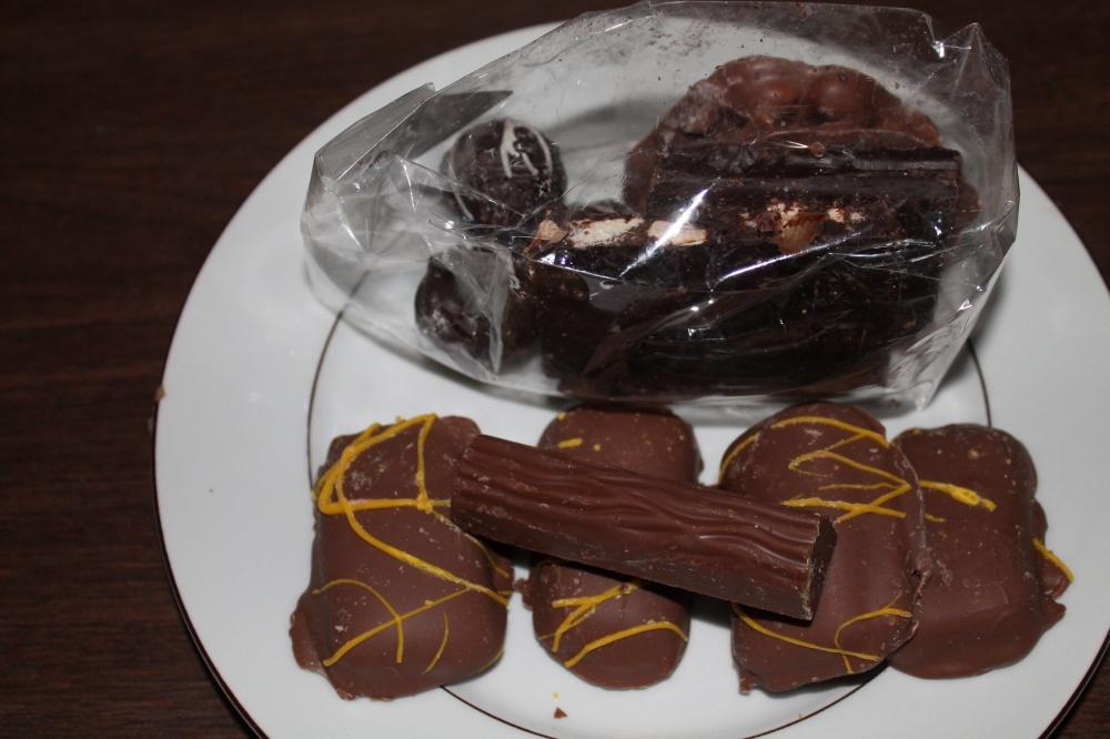 Sjokolade fra Sjokoladehjørna i Egersund