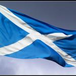 Skotsk flagg