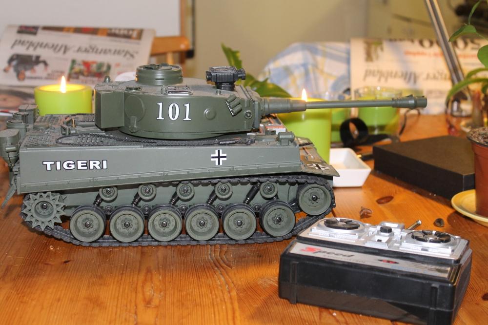Fjernstyrt Tiger tank