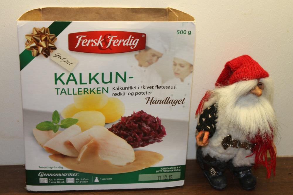 """KALKUNTALLERKEN fra """"Fersk&Ferdig"""