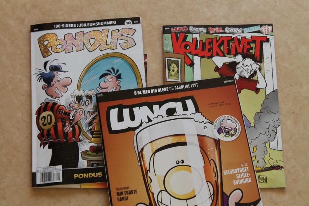 Tegneserier  som passer best for voksne.