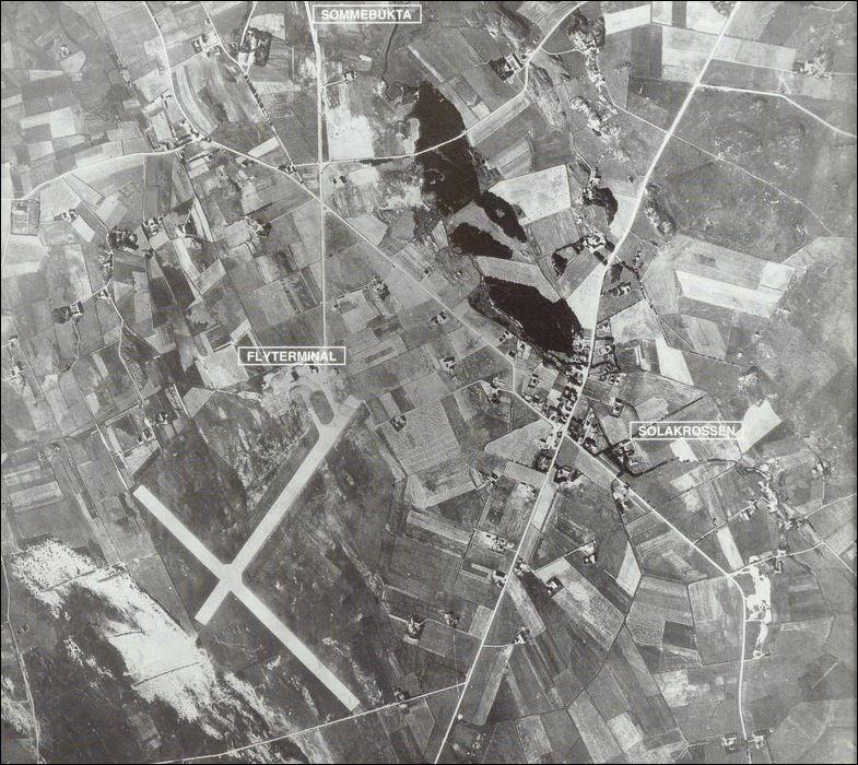 Sola flyplass 1937