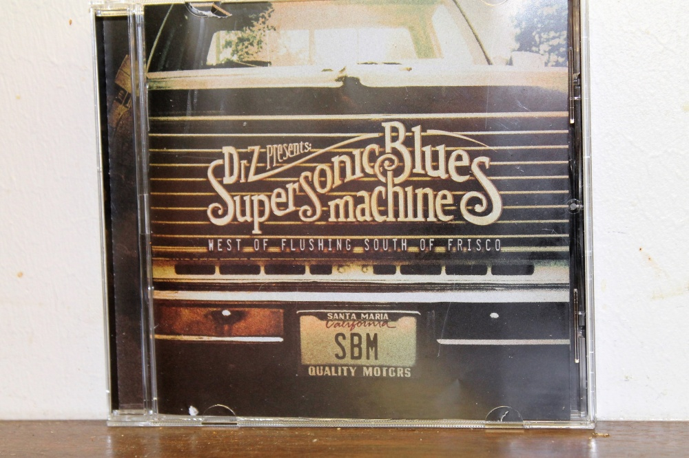 Dr. Z Presents Supersonic Blues machine