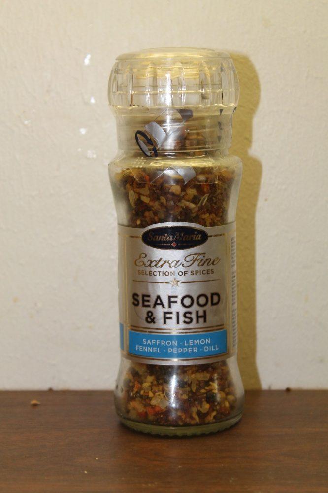 Krydderblanding for fisk og sjømat