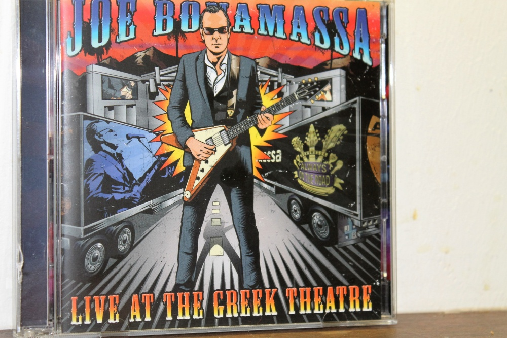 JOE BONAMASSA :  LIVE AT THE GREEK THEATRE: