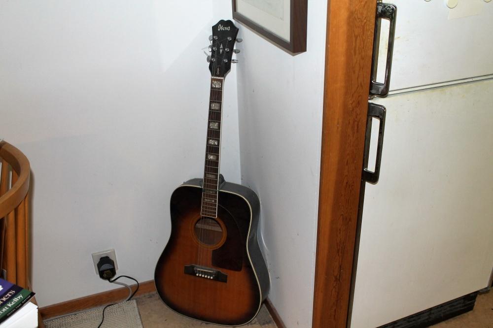 Min Ibanez stålstreng gitar